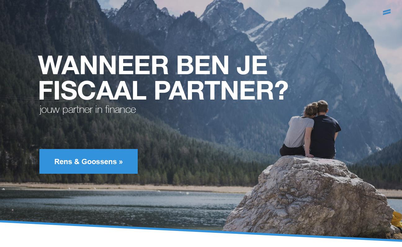 Wanneer ben je fiscaal partner?