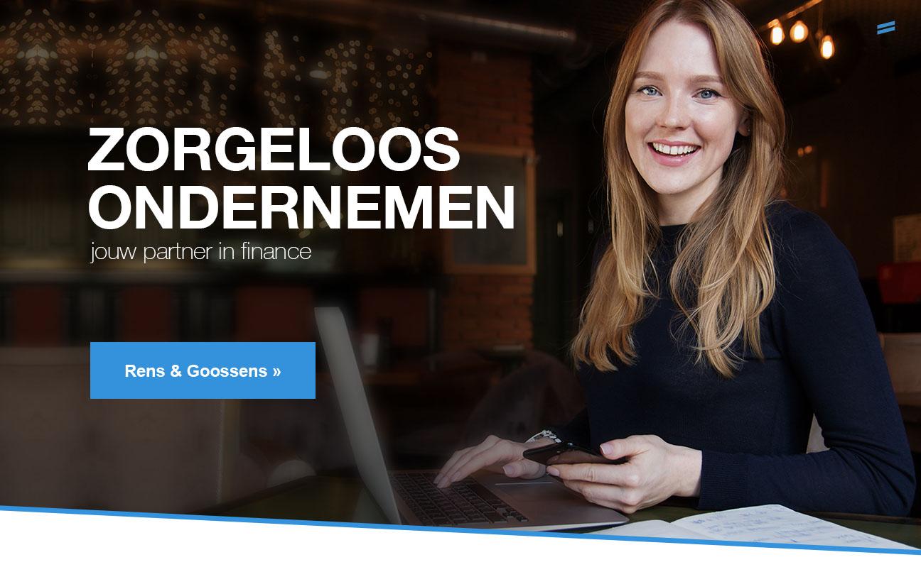 Zorgeloos ondernemen als klant van Rens & Goossens
